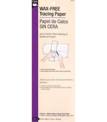 "Dritz Single Face Tracing Paper-6""x19"" 5 Sheets"