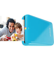Polaroid Snap Zip Mobile Printer-Blue, , hi-res