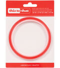 This To That Double-Sided Super Sticky Red Tape-.25\u0022X5yd