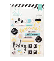 Heidi Swapp Memory Planner Puffy Stickers, , hi-res