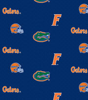 "University of Florida Gators Cotton Fabric 43""-Herringbone, , hi-res"