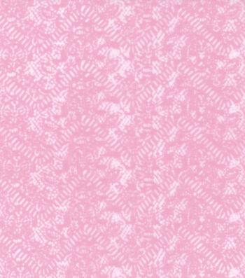 Kathy Davis® Apparel Fabric 59''-Light Mauve Chevron Burnout
