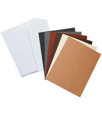 Core'dinations Card/Envelopes:  A7 White Pearl; 12 pack