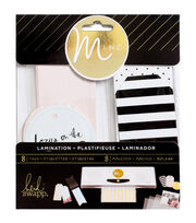 Heidi Swapp Minc Lamination Tags Assorted Sizes 16/Pkg-Color, , hi-res