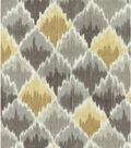 Waverly Print Fabric 54\u0022-Baroque Bargello/Shale