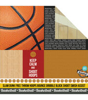 Kaisercraft Game On Play Hard Double-Sided Cardstock, , hi-res