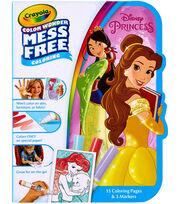 Crayola Color Wonder On The Go Coloring Kit-Disney Princess, , hi-res