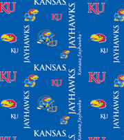 "University of Kansas Jayhawks Fleece Fabric 60""-Digital Camo, , hi-res"