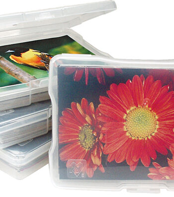 "IRIS® 4""x6"" Photo and Craft Case"