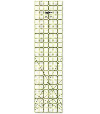 "Omnigrip Neon Quilter's Ruler-6""x24"""