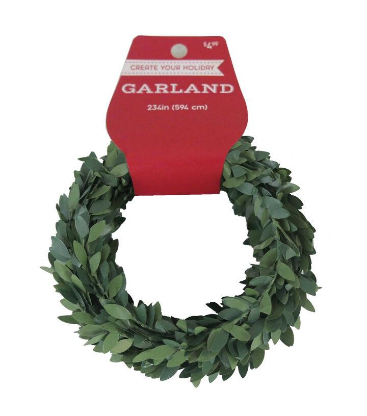Delightful Blooming Holiday Christmas 234u0027u0027 Greenery Garland Amazing Design