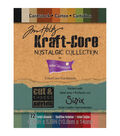 Tim Holtz Kraft Core 4x5 Cardstock