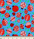 Snuggle Flannel Fabric 43\u0022-Love Ladybug