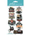 Jolee\u0027s Boutique Dimensional Stickers-Travel Words