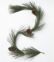 Blooming Holiday Longleaf Garland-Pinecone, , hi-res