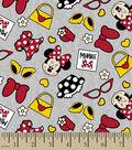 Disney® Minnie Mouse Flannel 42\u0022-Stylish Minnie Icons