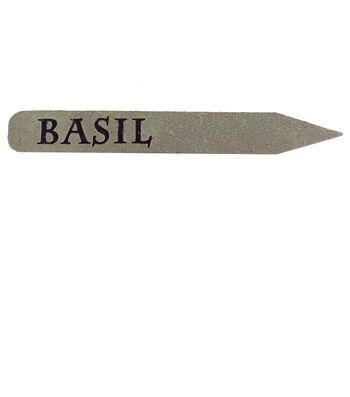 Wild Blooms Plant Marker-Basil