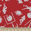 Scarlett & Grey Football Print Fabric