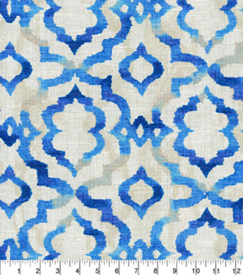 "Kelly Ripa Home Upholstery Fabric 54""-Good Vibes Luna"