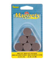 "Round Magnets with Foam Adhesive -.75"" 18/Pkg, , hi-res"