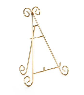 Darice 12 inch Gold Easel