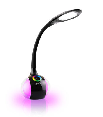 OttLite® LED Desk Lamp with Color Changing Base-Black