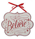 Maker\u0027s Holiday Wall Decor-Believe