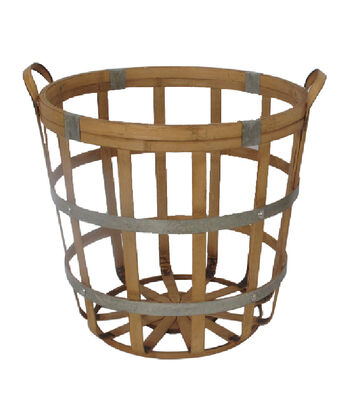 Fall Into Color Thanksgiving Small Bamboo Basket