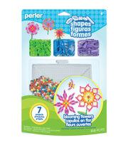 Perler Shapes Fun Fusion Fuse Bead Activity Kit-Blooming Flowers, , hi-res