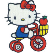 C, Visionary Hello Kitty® Patches Tricycle Apple, , hi-res
