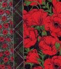 Keepsake Calico™ Cotton Fabric-Poppies Stripe