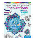Adult Coloring Book-Design Originals Color Your Own Sticker Inspirations