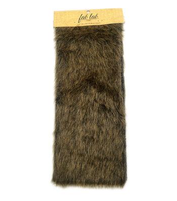 """Darice Designer Fur Deluxe12""""x15""""-Dark Brown"""