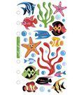 Sticko Vellum Stickers-Tropical Fish