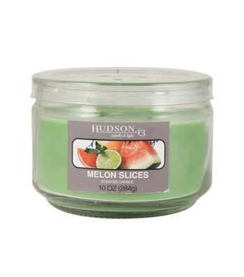 Hudson 43™ Candle & Light Collection 10oz Value Jar Melon Slices