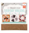 DCWV 12\u0022x12\u0022 DIY Project Stack: Everyday Wreaths