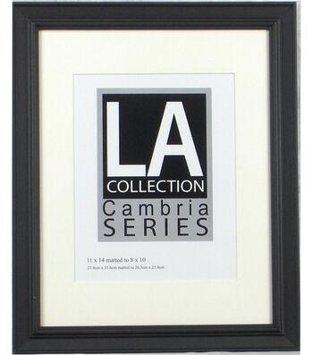 black picture frames. LA Collection Cambria Series Plastic Wall Frame 11\u0027\u0027x14\u0027\u0027-Black Black Picture Frames