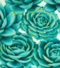 Anti-Pill Fleece Fabric 59\u0022-Succulents