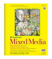 """Strathmore Mixed Media Vellum Paper Pad 11""""X14""""-90lb 40 Sheets, , hi-res"""