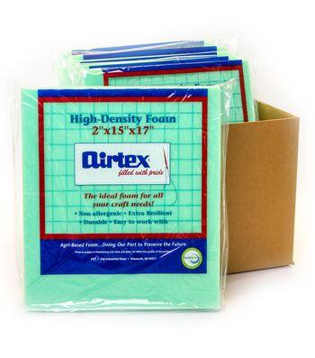 """Airtex Case Of 6 High Density Chair Pad-2""""x15""""x17"""""""