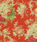Home Decor 8\u0022x8\u0022 Swatch Fabric-Waverly Sanctuary Rose Crimson