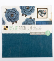 "DCWV 12""x12"" Denim Stack, , hi-res"