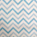 Snuggle Flannel Fabric 42\u0022-Blue Chevron