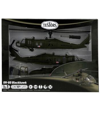 1:60 Uh-60 Black Hawk Helicopter Model Kit