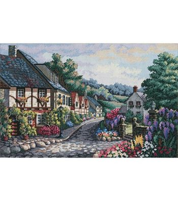 Dimensions Gold Collection Memory Lane Cntd X-Stitch Kit