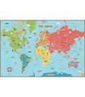 WallPops Kids World Map