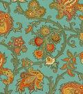 Home Decor 8\u0022x8\u0022 Fabric Swatch-Waverly Tennyson Harvest