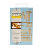 Spellbinders® Die D-Lites 7 Pack Etched Dies-Toolbox, , hi-res
