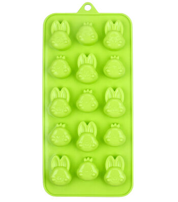 Easter 15-Cavity Silicone Candy Mold-Bunny