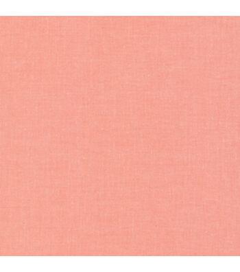 """Cloud 9 Premium Organic Cotton Fabric 44""""-Coral Cirrus"""